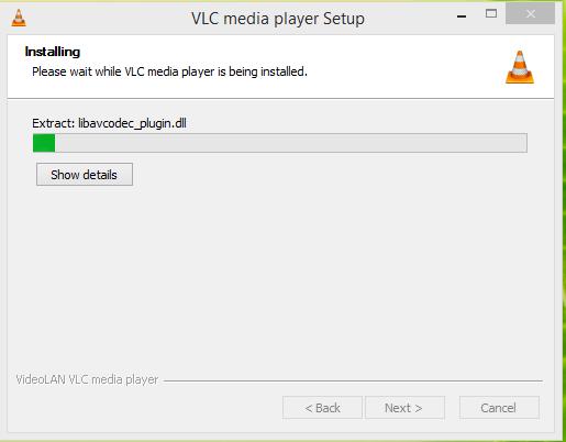 VLC Media Player Installation
