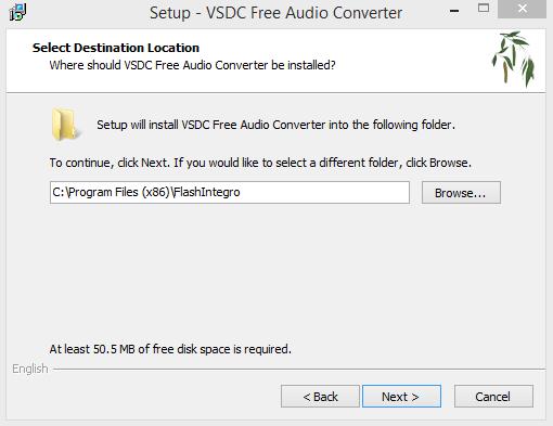 VSDC Installation Step 3