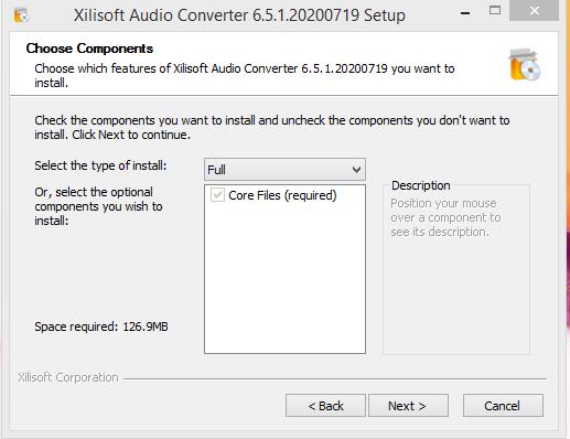 Xilisoft Installation Step 2