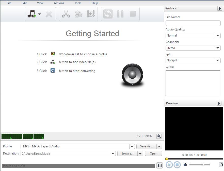 Xilisoft Interface