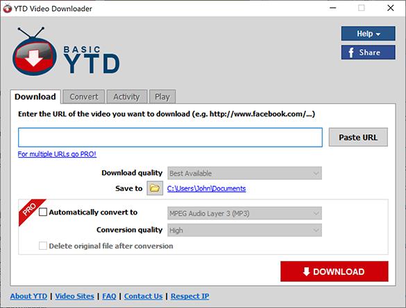 YTD Video Downloader Best Software