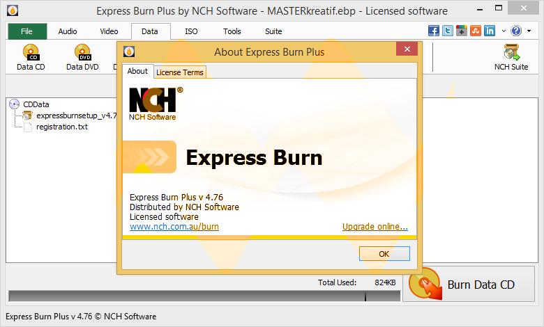 Express Burner Crack