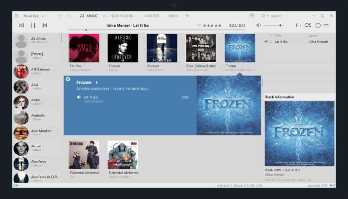 MusicBee Pc Media Player