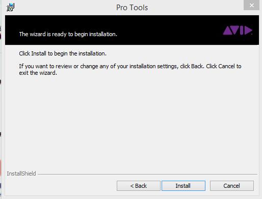 Pro Tools Installation Step 3