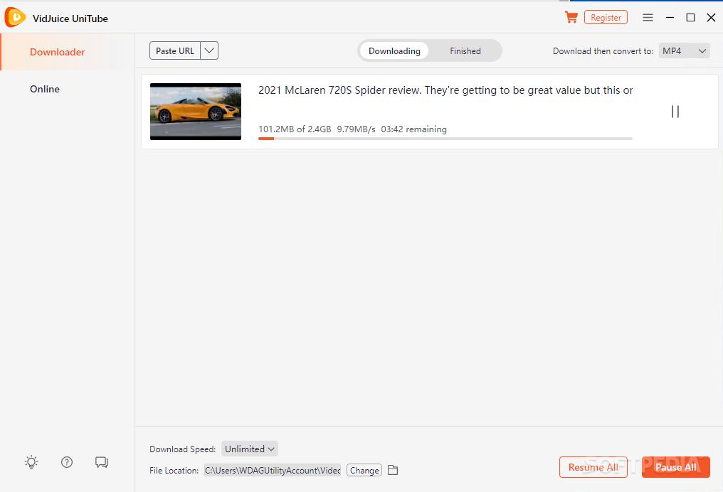 VidJuice Video Downloader Crack